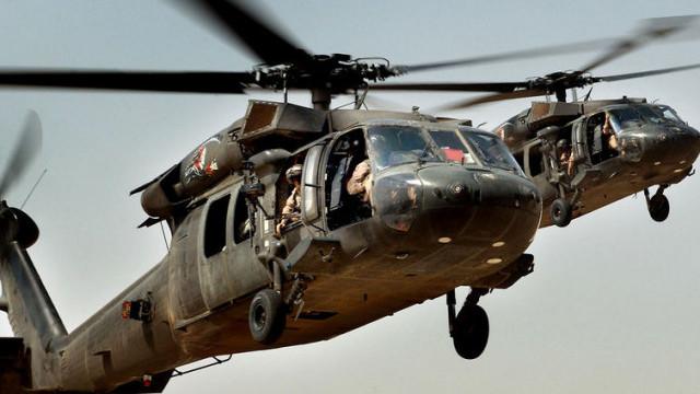 Американската военна авиация спасява чуждестранни командири на ИД