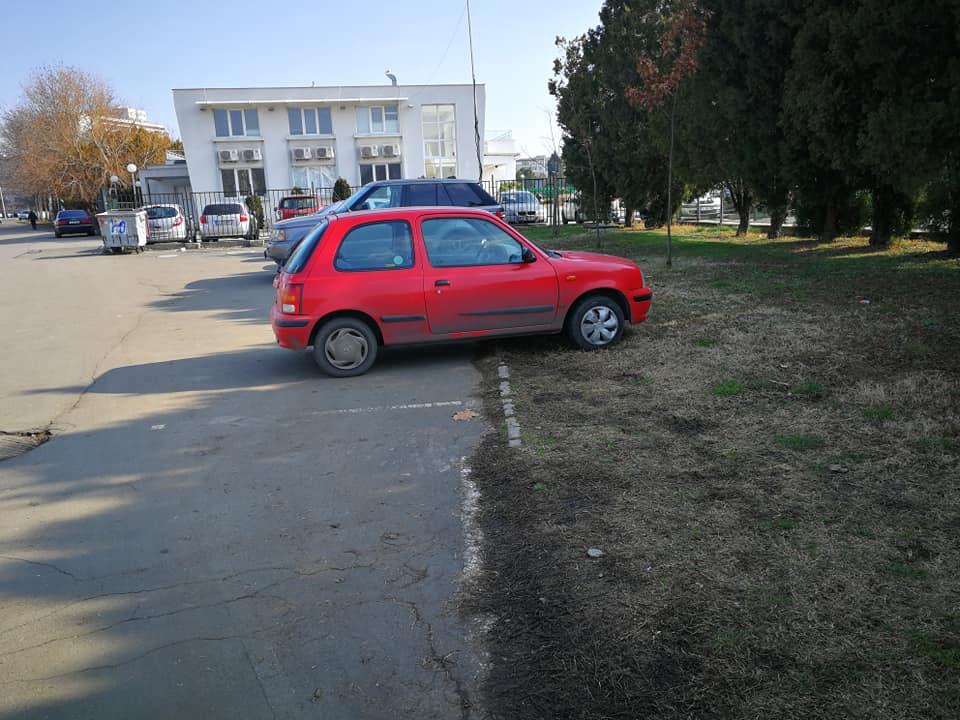 Община Бургас плаща на полиция, жандармерия и общински пазачи и паяци, а колите спират върху зелени площи в парка